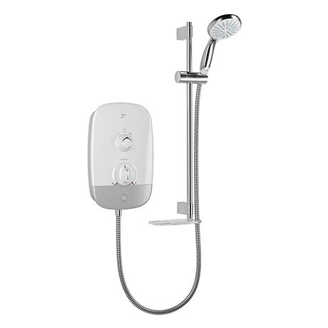 Mira Meta 8.5kW Electric Shower - White/Chrome - 1.1895.004