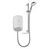 Mira Meta 9.5kW Electric Shower - White/Chrome - 1.1895.005 profile small image view 1