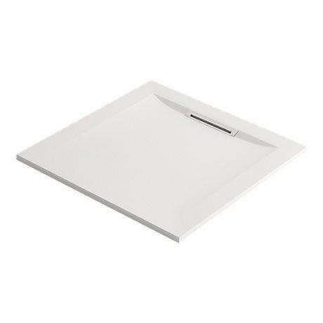 Mira Flight Level Safe Anti-Slip White Square Shower Tray