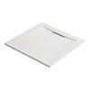 Mira Flight Level Safe Anti-Slip White Square Shower Tray profile small image view 1