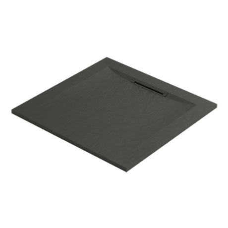 Mira Flight Level Slate Effect Square Shower Tray
