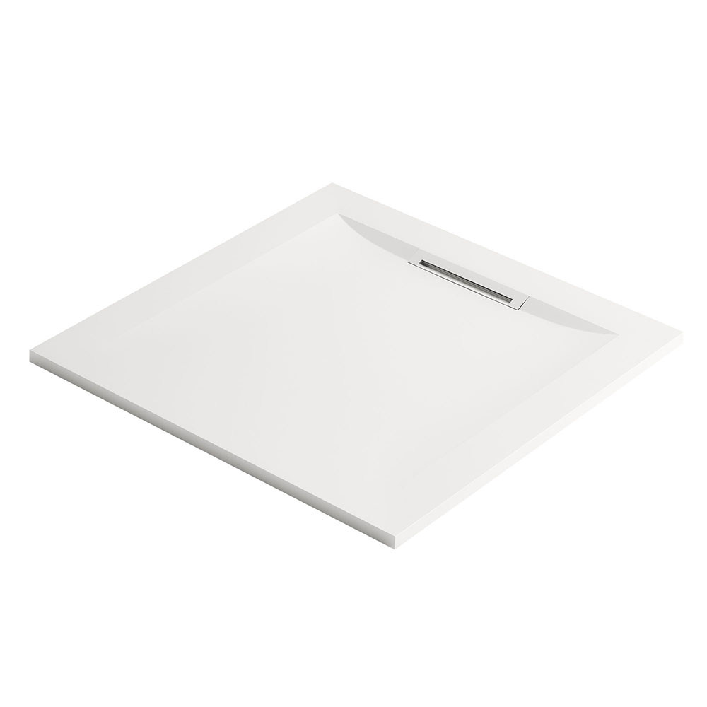 Mira Flight Level Square Shower Tray