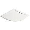 Mira Flight Level 900 x 900mm White Quadrant Shower Tray profile small image view 1