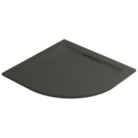 Mira Flight Level 900 x 900mm Slate Effect Quadrant Shower Tray