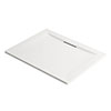 Mira Flight Level Rectangular Shower Tray profile small image view 1