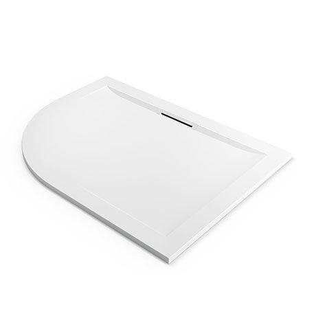 Mira Flight Level 1200 x 900mm RH White Offset Quadrant Shower Tray