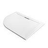 Mira Flight Level 1200 x 900mm RH White Offset Quadrant Shower Tray profile small image view 1