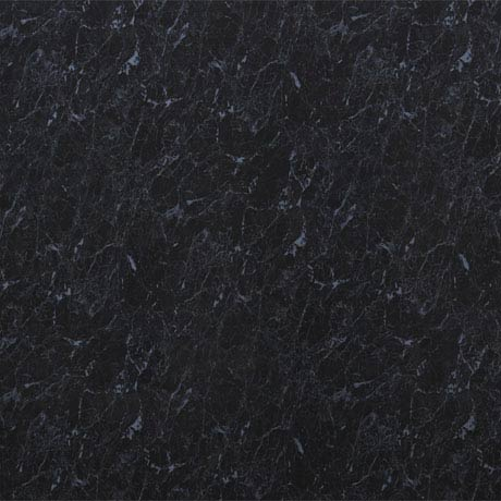 Mere Reef 1m Wide PVC Wall Panel - Noir Marble Gloss