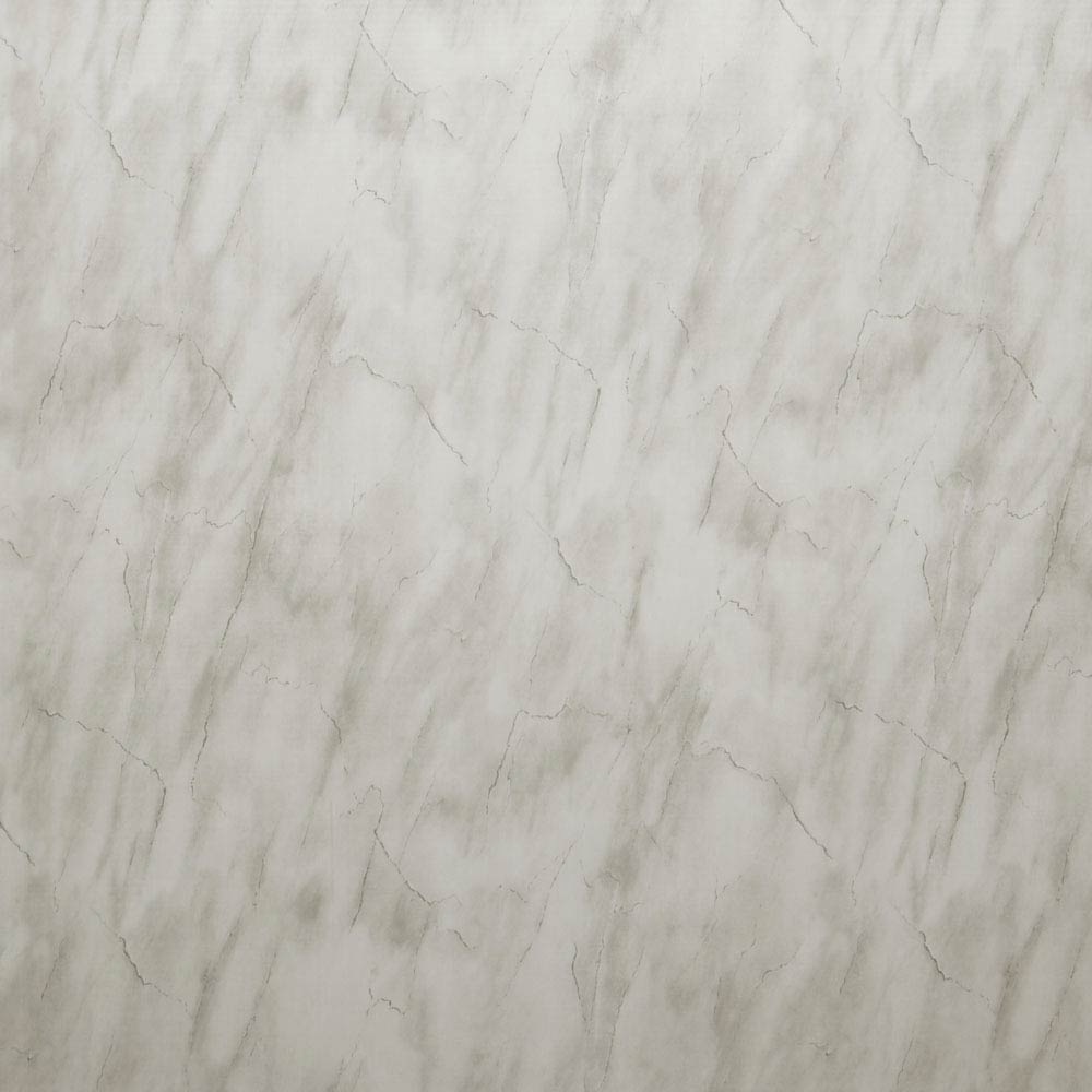 Mere Reef 1m Wide PVC Wall Panel - Light Carrera Marble Gloss Large Image