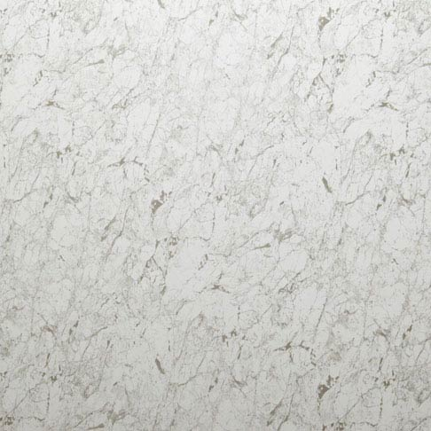Mere Reef 1m Wide PVC Wall Panel - White Carrera Marble Gloss Large Image