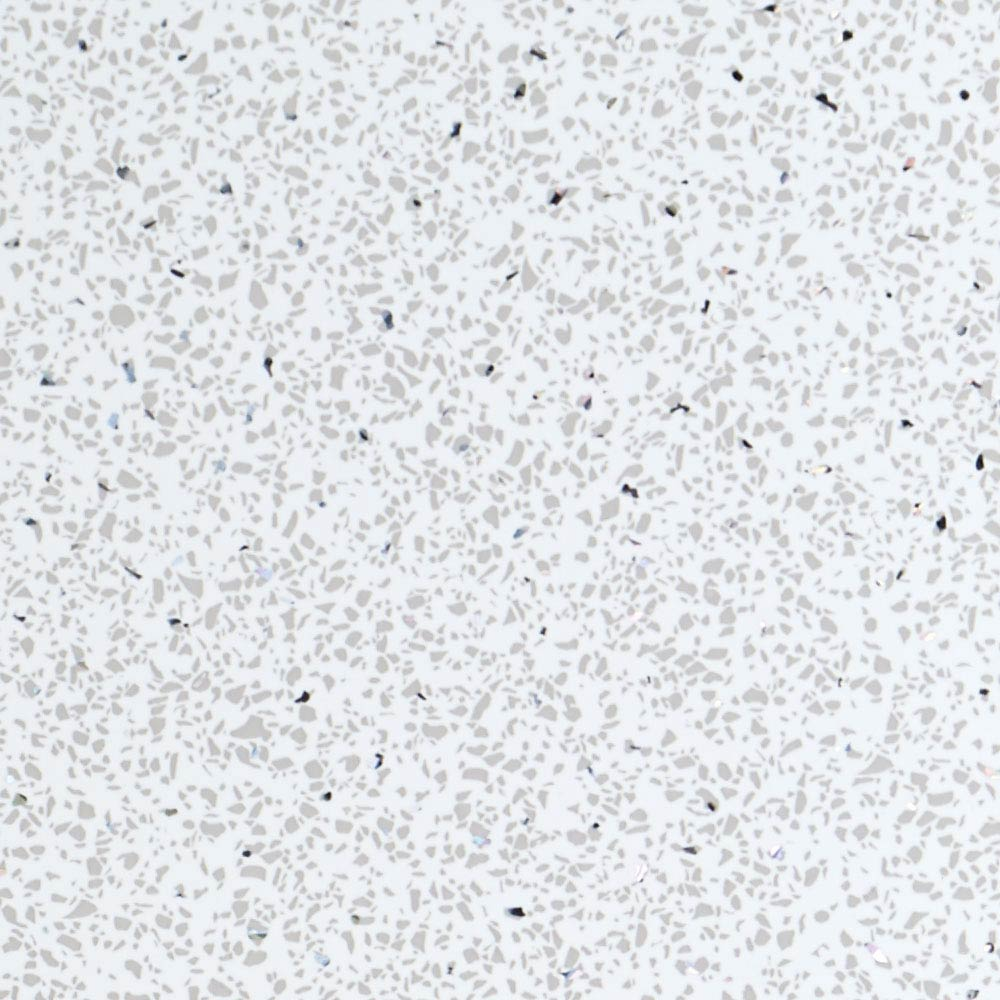 Mere Reef 1m Wide PVC Wall Panel - Galaxy White Large Image