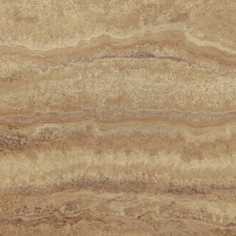 Mere Reef InterGrip Vinyl Floor Tiles (Pack of 12) - Rich Travertine Large Image