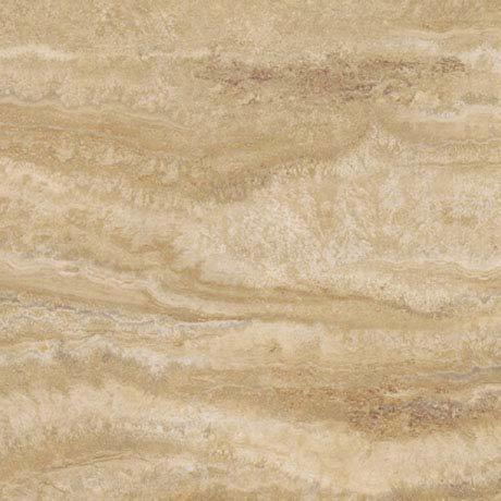 Mere Reef InterGrip Vinyl Floor Tiles (Pack of 12) - Natural Travertine Large Image
