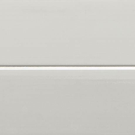 Mere Reef PVC Ceiling Panels (Pack of 5) - Silver Strip White Gloss