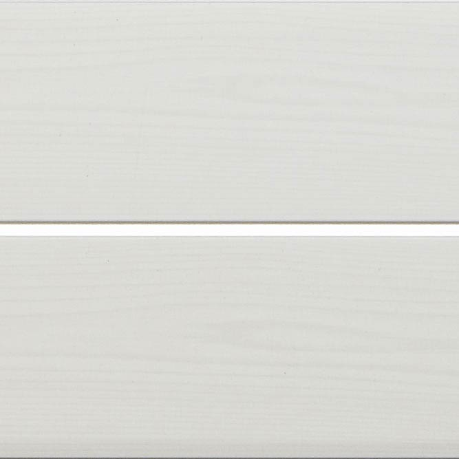 Mere Reef PVC Ceiling Panels (Pack of 5) - Silver Strip White Wood Silk Large Image
