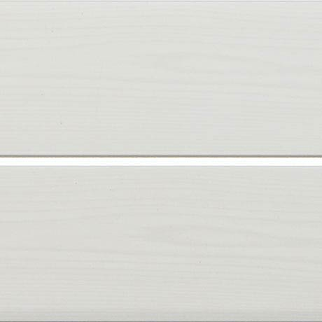 Mere Reef PVC Ceiling Panels (Pack of 5) - Silver Strip White Wood Silk