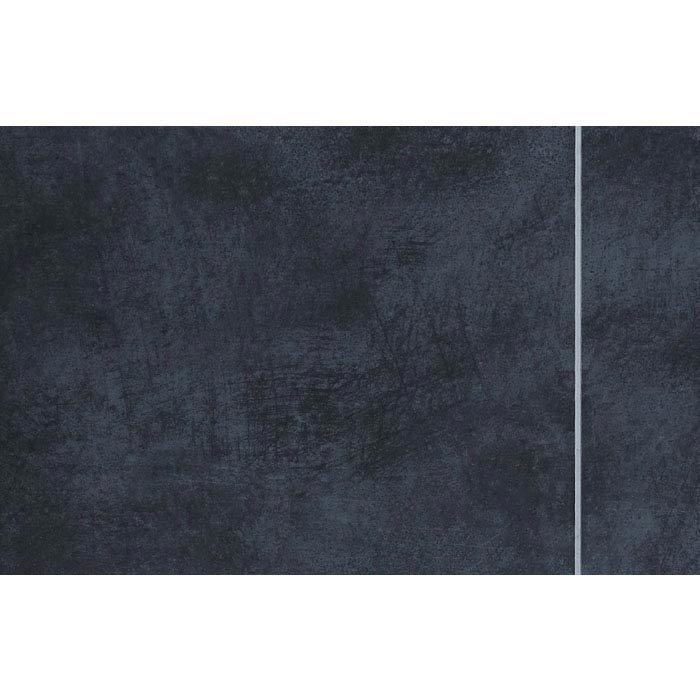 Mere Reef Interlock 2 Tile Effect Wall Panels (Pack of 8) - Urban Dark profile large image view 1