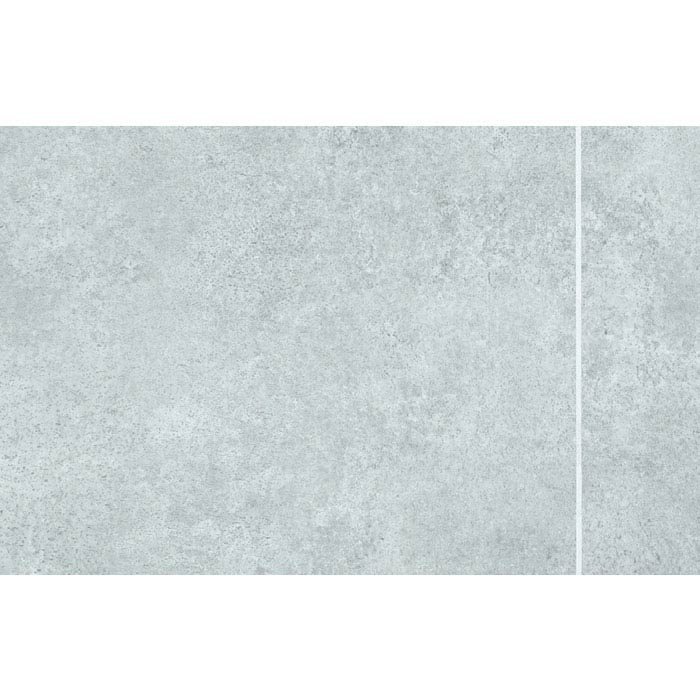 Mere Reef Interlock Tile Effect Wall Panels (Pack of 8) - Light Grey Stone 3 Tile Large Image