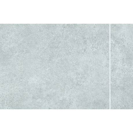 Mere Reef Interlock Tile Effect Wall Panels (Pack of 8) - Light Grey Stone 3 Tile