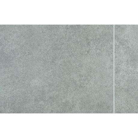 Mere Reef Interlock 3 Tile Effect Wall Panels (Pack of 8) - Dark Grey Stone