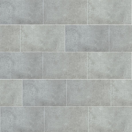 Mere Reef Dark Grey Stone Interlock 3 Tile Effect Wall Panels (Pack of 8)