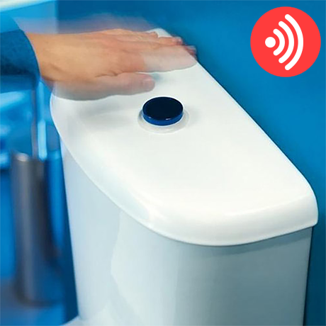 Wirquin Jollytronic No Touch Infra Red Toilet Flushing Kit