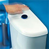 Wirquin Jollytronic No Touch Infra Red Toilet Flushing Kit profile small image view 1