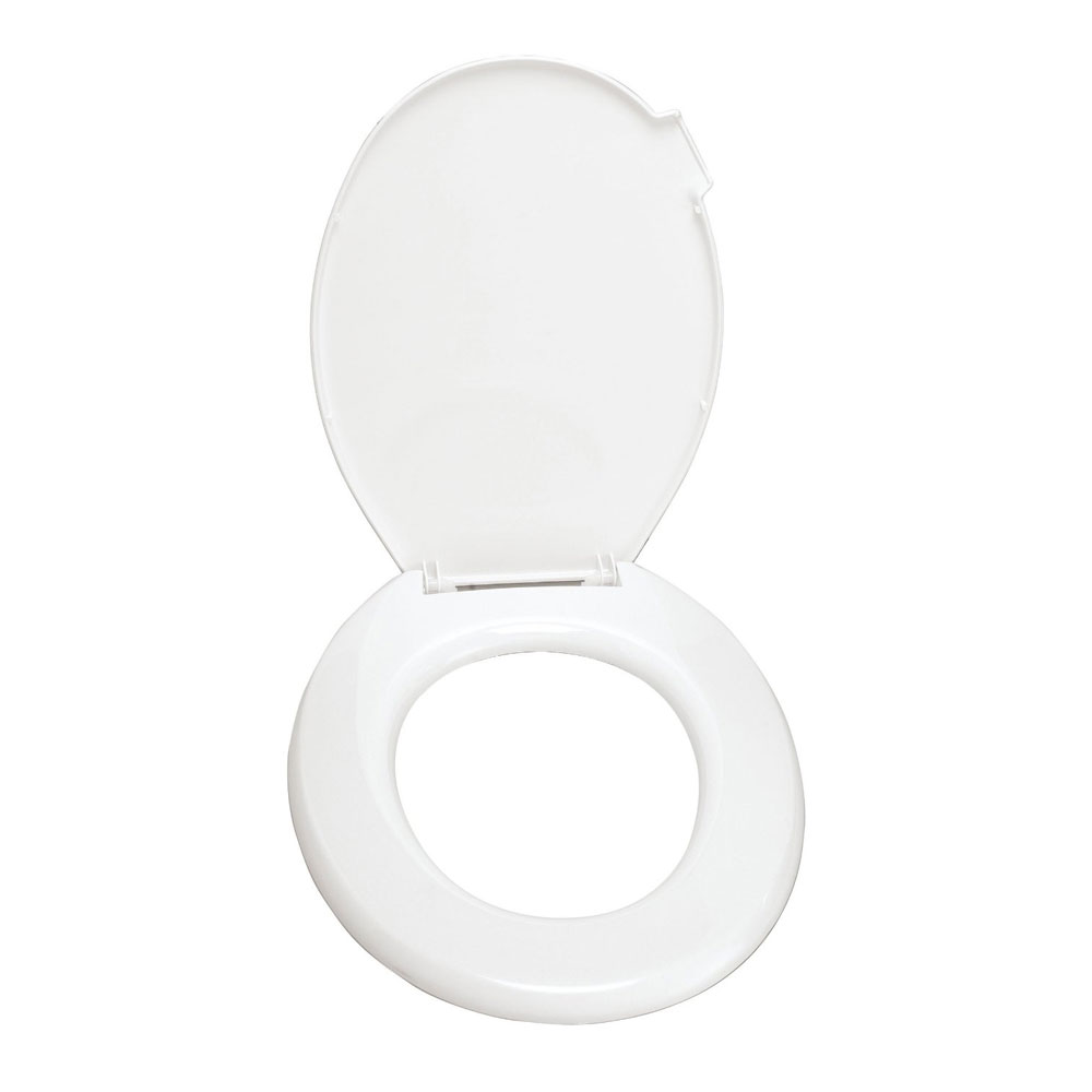Wenko Mop Thermoplast Toilet Seat with Lift Handle - 102009100 Profile Large Image