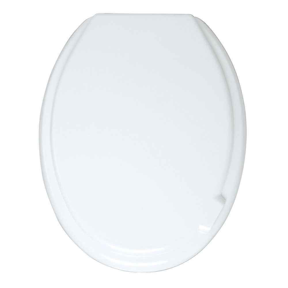 Wenko Mop Thermoplast Toilet Seat with Lift Handle - 102009100 Large Image