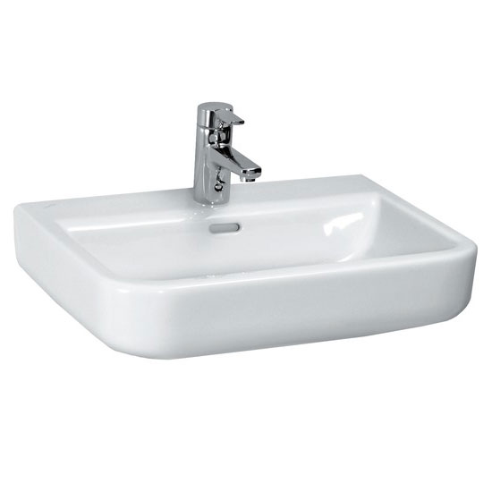 Laufen - Form 1 Tap Hole Basin - 4 x Size Options profile large image view 1