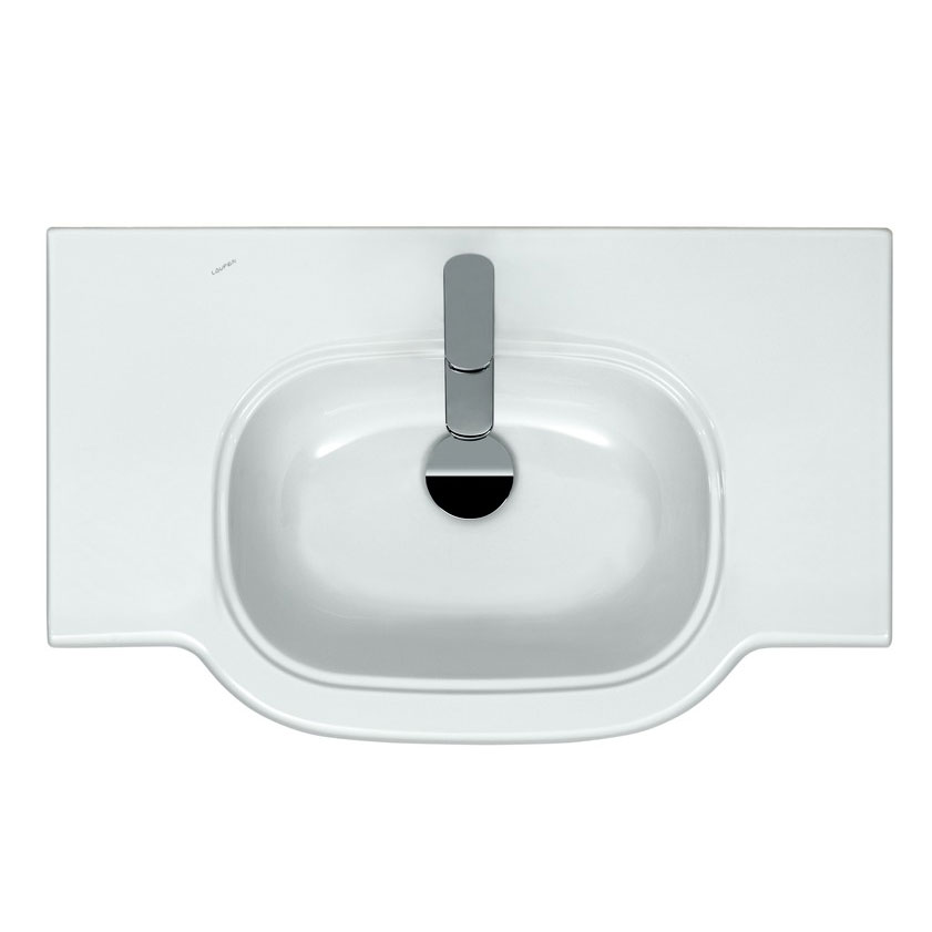 Laufen - Lb3 Classic 850mm Countertop Basin - 2 x Tap Hole Options profile large image view 2