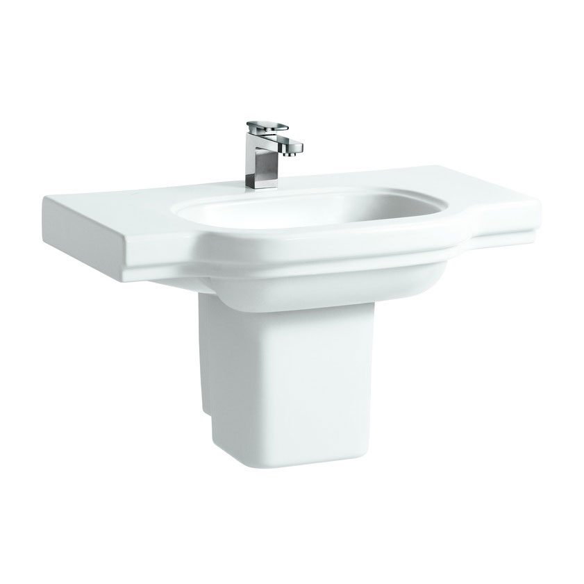 Laufen - Lb3 Classic 850mm Countertop Basin - 2 x Tap Hole Options profile large image view 4