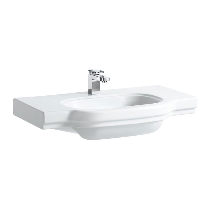Laufen - Lb3 Classic 850mm Countertop Basin - 2 x Tap Hole Options Large Image