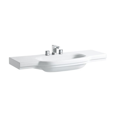 Laufen - Lb3 Classic 1250mm Countertop Basin - 2 x Tap Hole Options