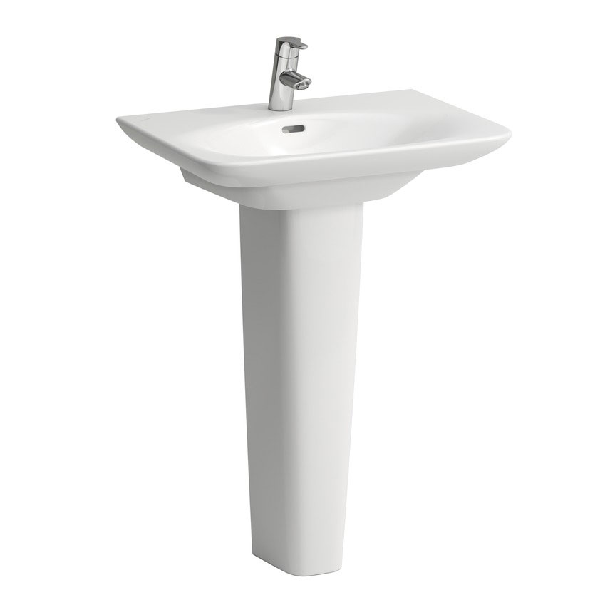 Laufen - Palace 1 Tap Hole Basin - Various Size Options profile large image view 2