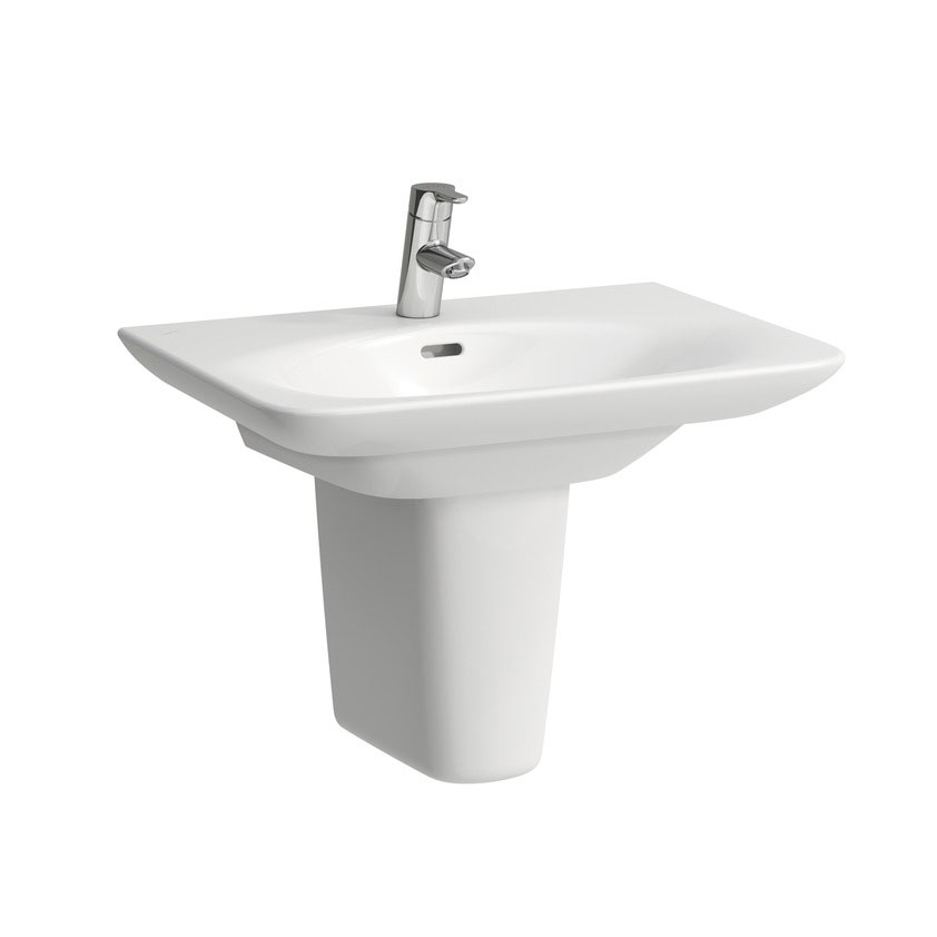 Laufen - Palace 1 Tap Hole Basin - Various Size Options Feature Large Image