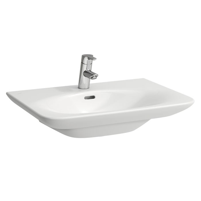 Laufen - Palace 1 Tap Hole Basin - Various Size Options profile large image view 1