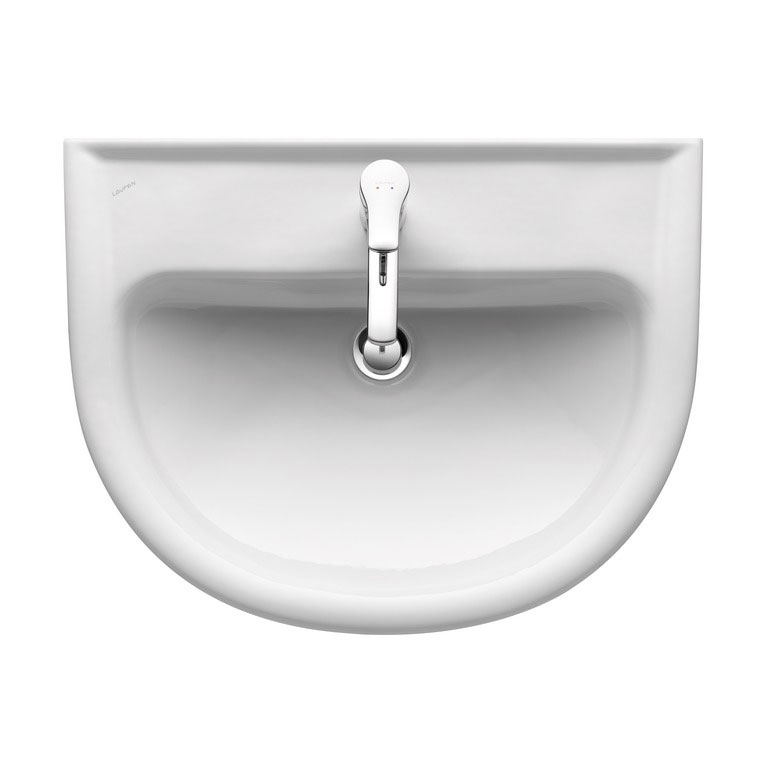 Laufen - Pro 1 Tap Hole Compact Basin - 2 x Size Options profile large image view 2