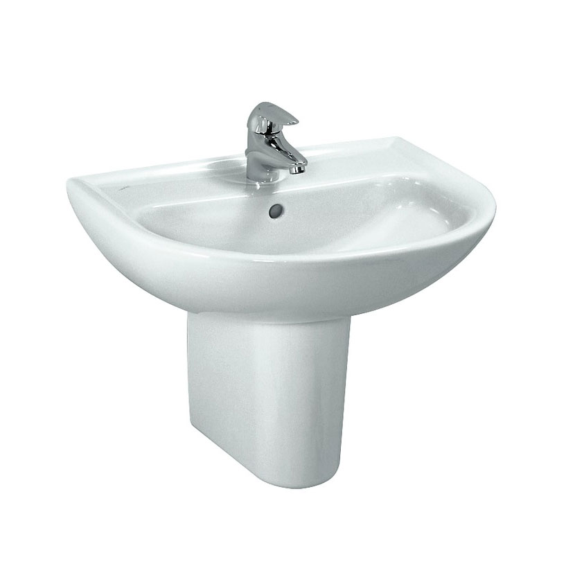 Laufen - Pro 1 Tap Hole Compact Basin - 2 x Size Options Feature Large Image