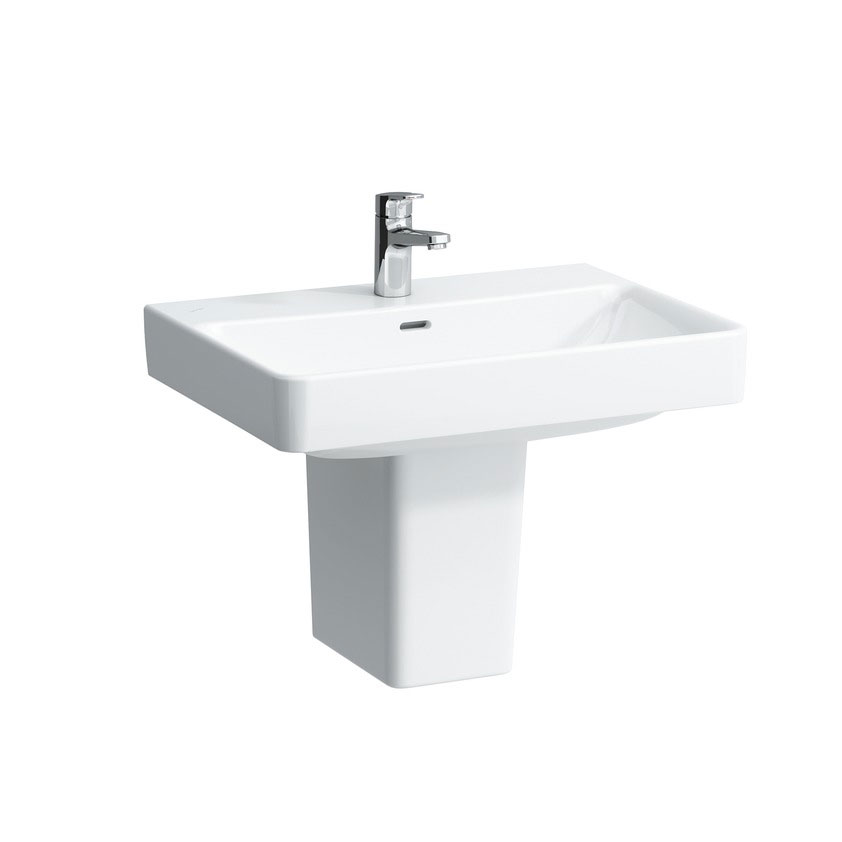Laufen - Pro S 1 Tap Hole Basin - 4 x Size Options Standard Large Image