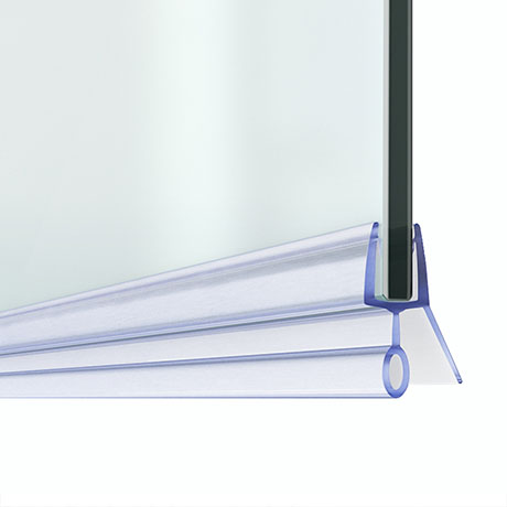 Bath Shower Screen Door Seal Strip - Glass 4-6mm / Gap 10mm