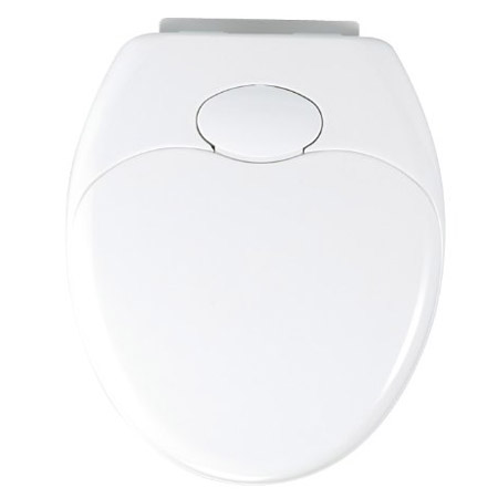 Wenko Family Easy-Close WC Toilet Seat - White - 110003100 Feature Large Image