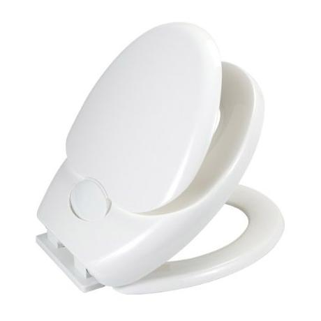 Wenko Family Easy-Close WC Toilet Seat - White - 110003100