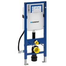 Geberit - Duofix WC Frame for Disabled WC with UP320 Cistern - 1.12m Medium Image