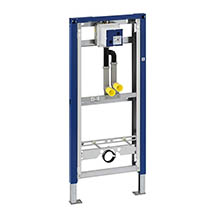 Geberit Duofix Urinal Frame with Pipe Interrupter for Mains Fed Water Supply