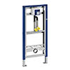 Geberit Duofix Urinal Frame with Pipe Interrupter for Mains Fed Water Supply profile small image view 1