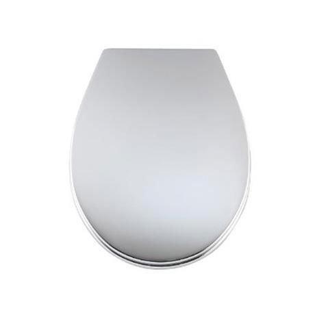 Wenko Prato Wc Toilet Seat Chrome 111215100 At