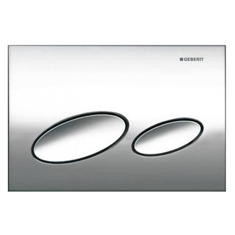 Geberit Kappa 20 Matt Chrome Flush Plate for UP200 Cistern - 115.228.46.1