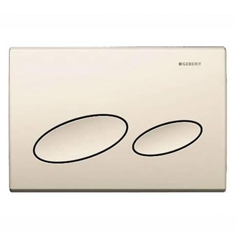Geberit Kappa 20 Pergamon Flush Plate for UP200 Cistern - 115.228.DM.1