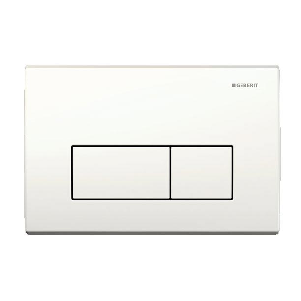 Geberit - Flush Plate for UP200 Cistern - Kappa50 - White Large Image